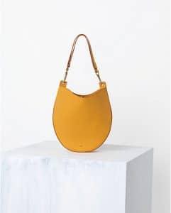 Celine Mustard Saffron Hobo Bag - Spring 2014