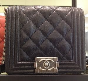 Chanel Black Boy Flap Mini Bag
