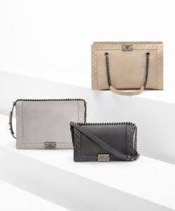 Chanel Boy Reverso Bags - Fall 2013