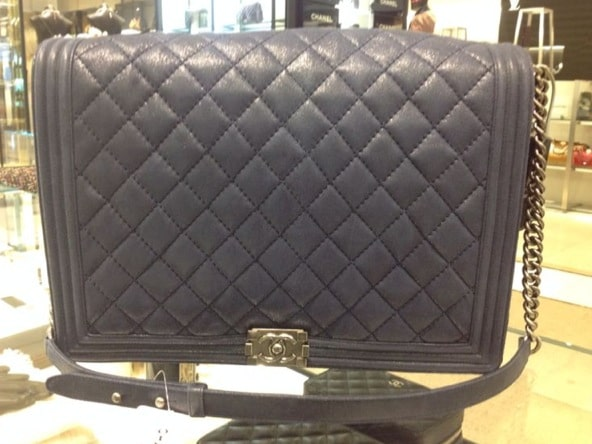 The Chanel Boy Bags from the Fall Winter 2013 collection   Spotted ... 921785d722af
