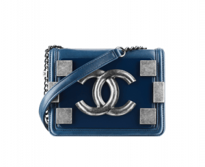 Chanel Peacock Blue Boy Brick Flap Bag