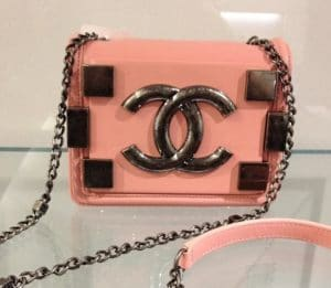 Chanel Pink Boy Brick Flap Bag 1