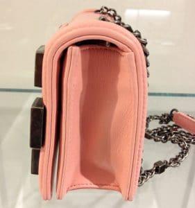 Chanel Pink Boy Brick Flap Bag 2
