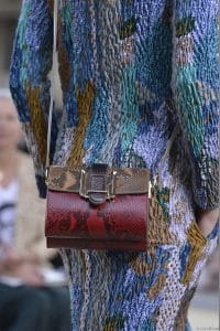 Chloe Red Python Crossbody Mini Bag - Runway Spring 2014