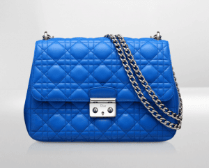 Dior Bleu Persan Miss Dior Large Bag