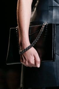 Fendi Black Chain Large Shoulder Bag - Runway Spring 2014