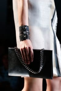 Fendi Black Chain Shoulder Bag - Runway Spring 2014