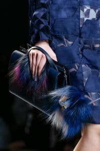 Fendi Blue Bag - Runway Spring 2014