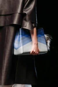 Fendi Blue Multicolor 2Jours Bag - Runway Spring 2014