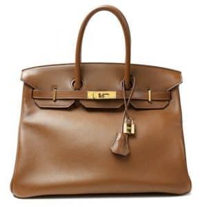 Hermes Alezan Swift Birkin 35cm Bag