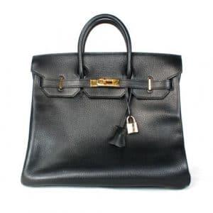 Hermes Black Birkin 35cm Bag