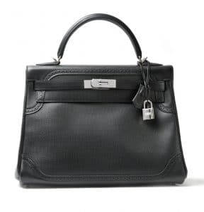 Hermes Black Kelly Bag - Fall 2012