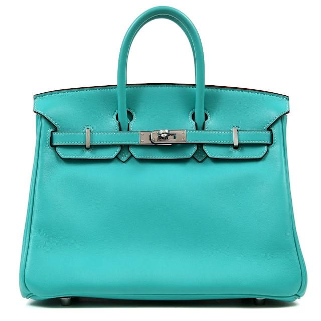 hermes birkin blue bag