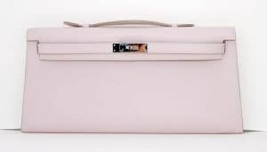 Hermes Rose Dragee Kelly Longue Bag