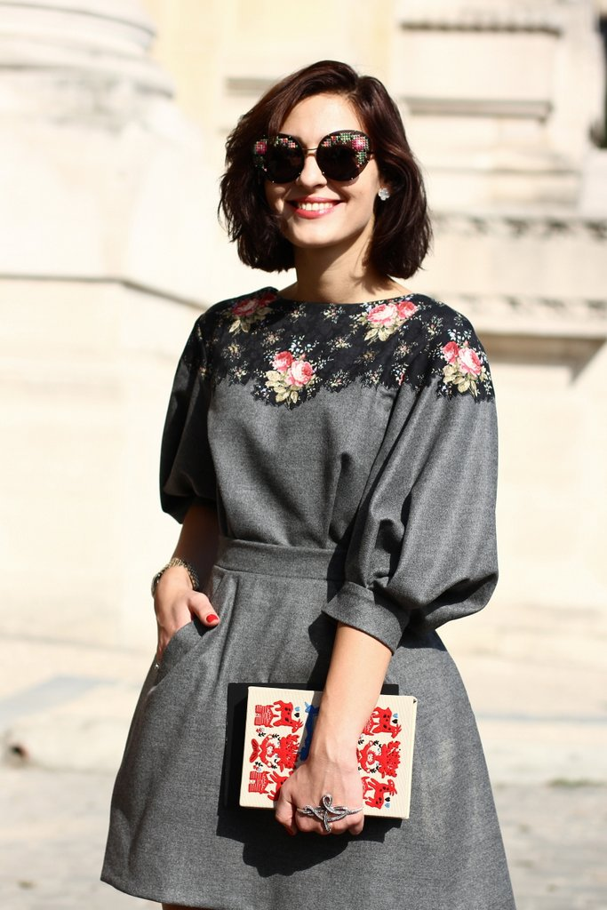 Street Style Photos From Paris Fashion Week Spring 2014 Spotted Fashion