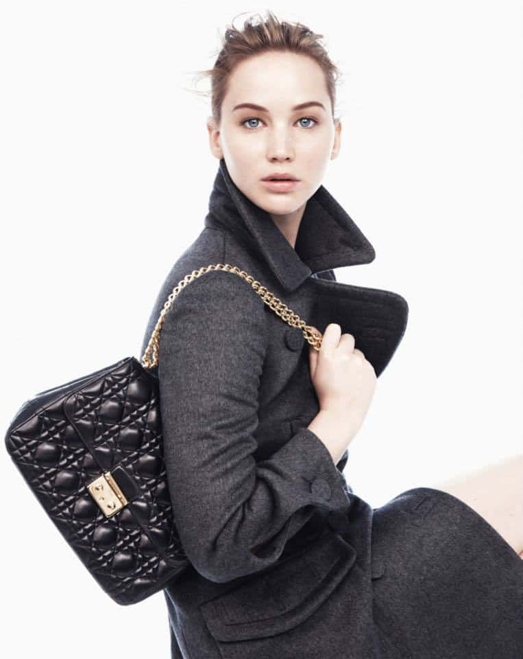 Jennifer Lawrence for Miss Dior Fall 2013 Ad Campaign 2