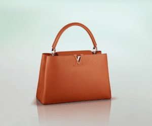 Louis Vuitton Clementine Capucines MM Bag