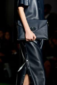 Mulberry Black Willow Clutch Bag - Runway Spring 2014