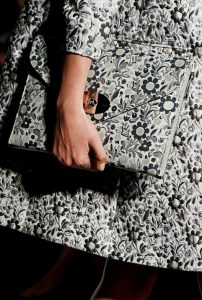 Mulberry Floral Printed Willow Clutch Bag - Runway Spring 2014