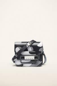 Proenza Schouler Black Camo Print PS11 Tiny Bag