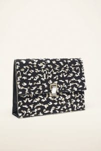Proenza Schouler Black High Frequency Large Lunch Bag