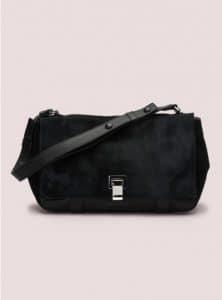 Proenza Schouler Black Pony PS Courier Bag