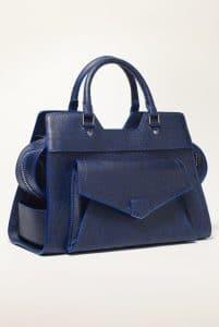 Proenza Schouler Blue Animal Print PS13 Small Bag