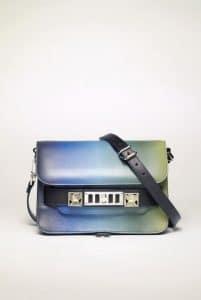 Proenza Schouler Blue Degrade PS11 Classic Mini Bag