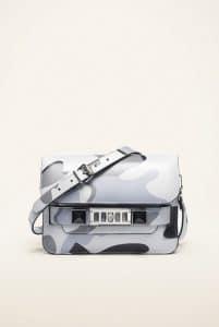 Proenza Schouler Bone Camo Print PS11 Mini Classic Bag
