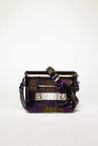 Proenza Schouler Oil Slick Leather PS11 Tiny Bag