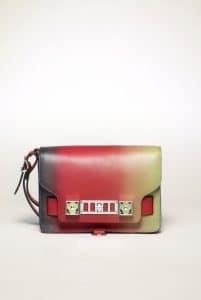 Proenza Schouler Poppy Degrade PS11 Clutch Bag
