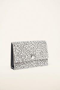 Proenza Schouler White/Black Printed Pony Small Bag