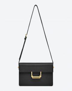 Saint Laurent Black Lulu Medium Bag