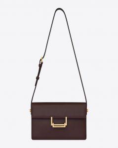 Saint Laurent Bordeaux Medium Bag
