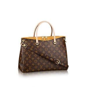 Louis Vuitton Saffran Yellow Pallas Bag