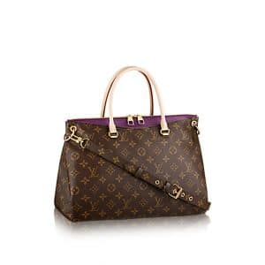 Louis Vuitton Amethyste Pallas Bag