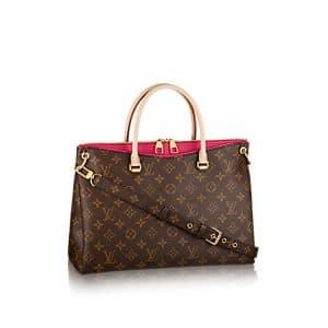 Louis Vuitton Pink Pallas Bag