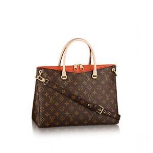 Louis Vuitton Clementine Orange Pallas Bag