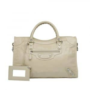 Balenciaga Beige Dune City Bag - Fall 2013