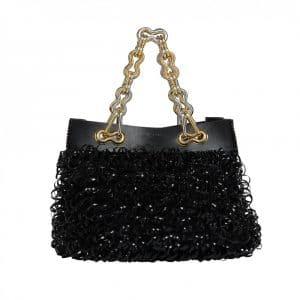Balenciaga Black Chain Tote Bag - Resort 2014 - 2