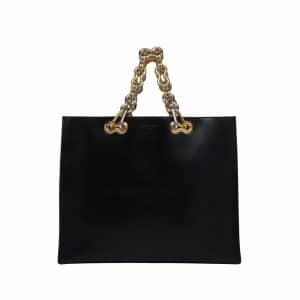 Balenciaga Black Chain Tote Bag - Resort 2014