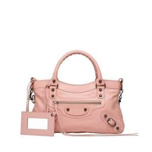 Balenciaga Rose Peche Classic First Bag