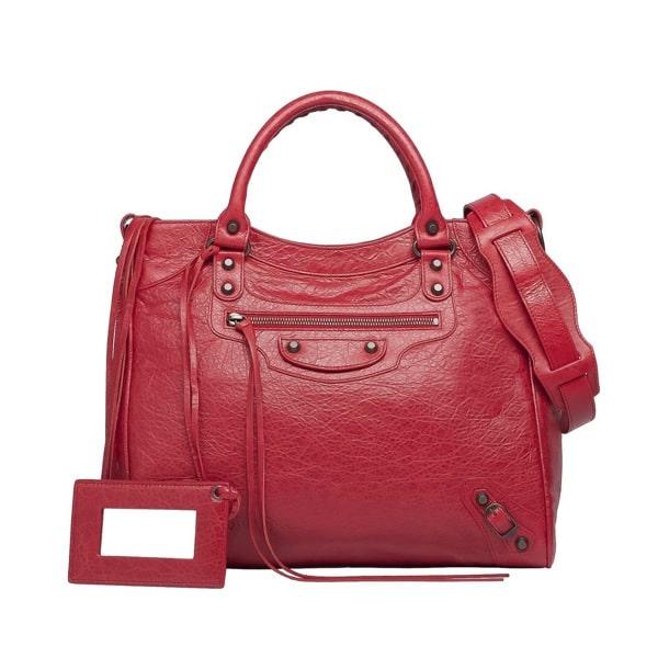 25395de1f67 Balenciaga Rouge Cardinal Classic Velo Bag: $1,545.00 (USD)