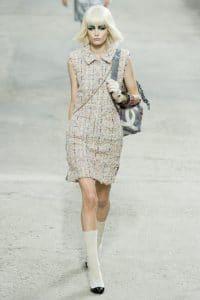 Chanel Airbrushed Large CC Backbag - Spring 2014 Runway