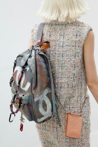 Chanel Airbrushed Large CC Backpack - Spring 2014 Runway