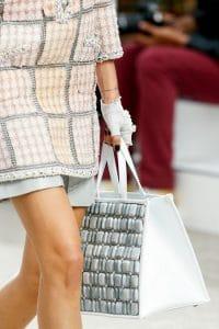 Chanel Bezel Shopping Tote Bag - Spring 2014 Runway