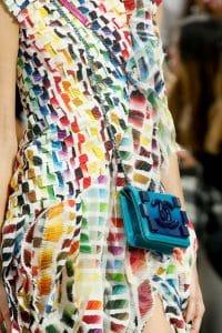 Chanel Blue Boy Brick Bag - Spring 2014 2