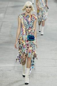 Chanel Blue Boy Brick Bag - Spring 2014