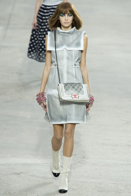 chanel springsummer 2014 runway bag collection spotted