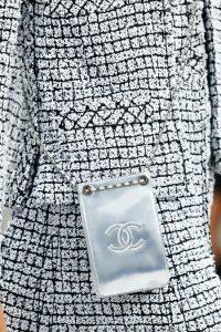 6ac3e30e3eae ... Chanel Graffiti Logo CC Pouch Bag - Spring 2014 Runway ...